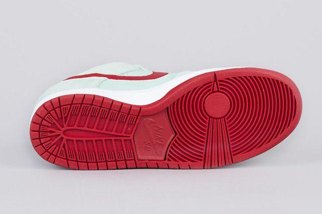 Nike Sb Dunk Low Pro Medium Mint Gym Red White Sole 1