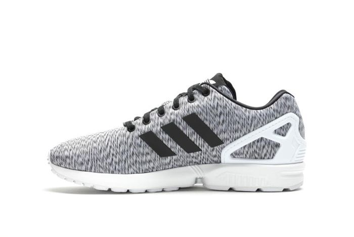 Adidas Zx Flux White Static Print