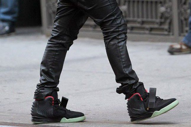 Nike Air Yeezy 2 Autographed Kanye West Worn Charity In Action 1