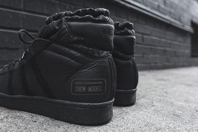 Adidas Y 3 Snow Model Mid Triple Black5