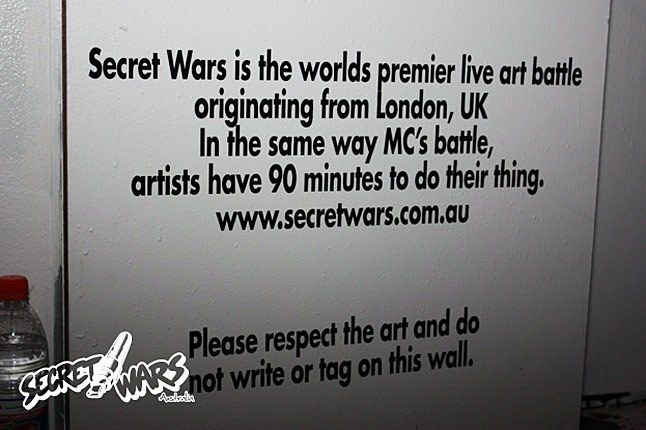 Secret Wars Sydney 00 1