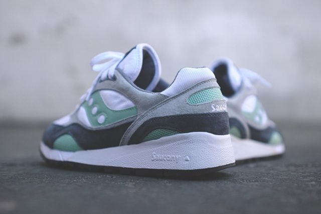 Saucony Shadow 6000 White Mint 1