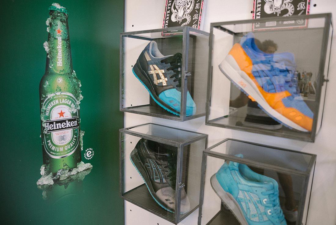 Allike Asics Sneaker Freaker Event Recap Heinekin