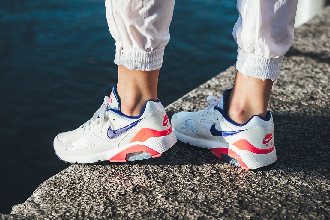 Nikeair Max 180 2018 Ultramarine On Foot 1