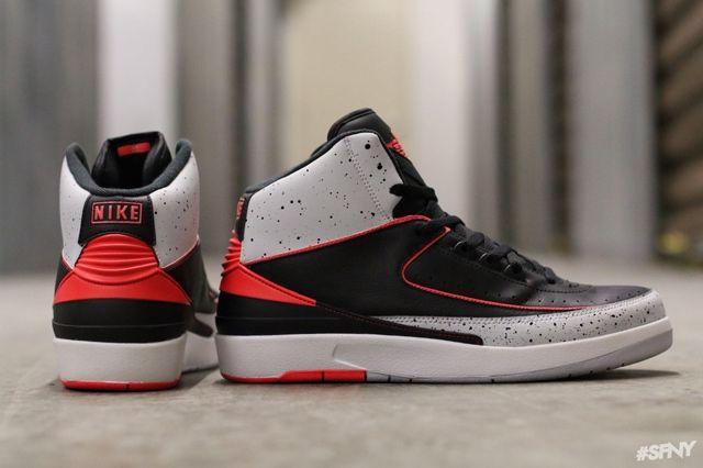 Air Jordan 2 Infrared Cement