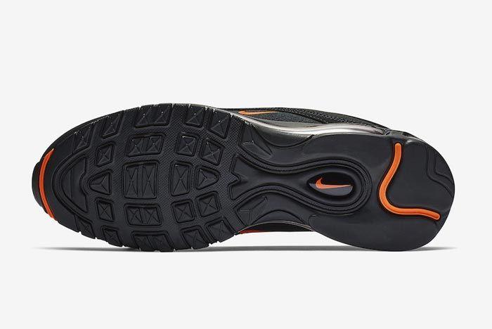 Nike Air Max 97 Black Hyper Crimson Outsole