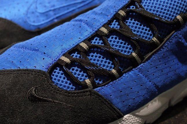 Nike Air Footscape Motion Blue Black Toe Detail 1