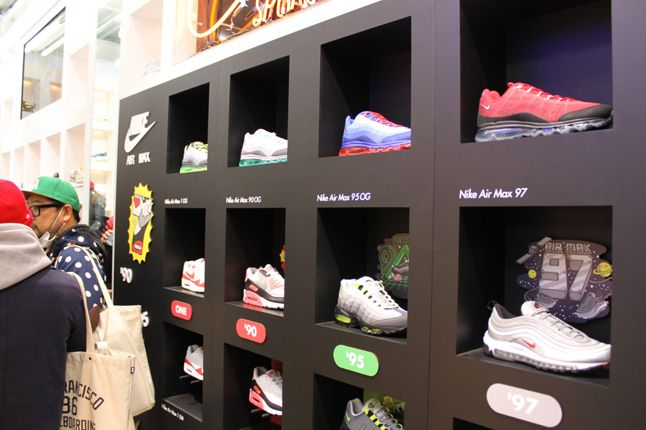 Atmos Nike Air Max Animal Camo Launch Store 1