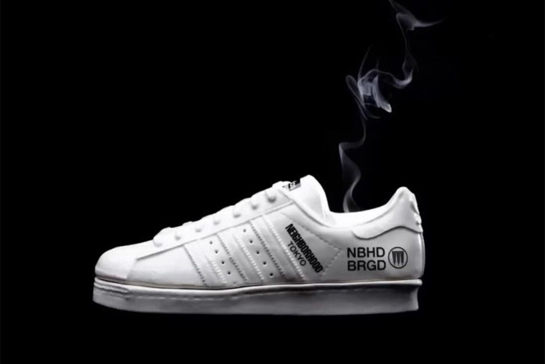Neighborhood X Adidas Superstar Incense Chamber 3