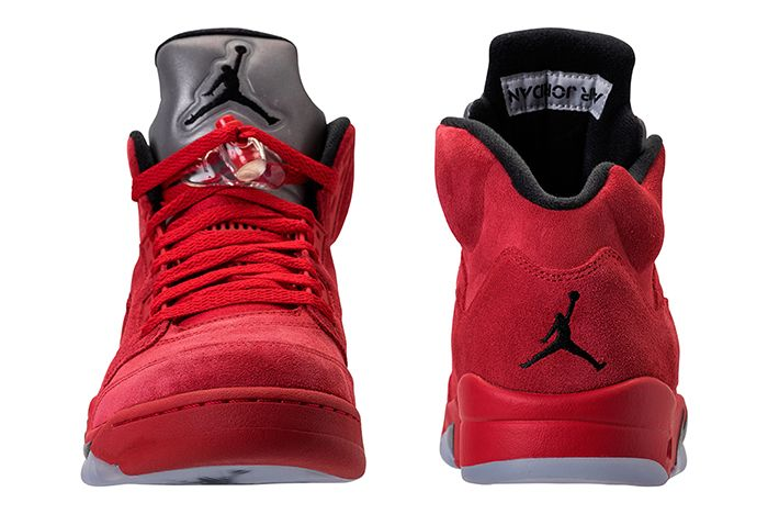 Air Jordan 5 Red Suede4 1