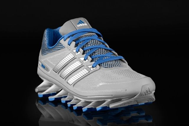 Adidas Springblade Grey Blue Profile