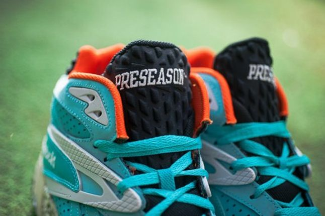 Reebok Scrimmage Mid Dolphins Tongue Detail 1