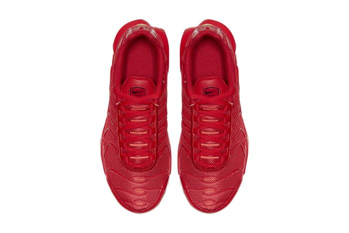 Nike Air Max Plus Triple Red Cq9748 600 Release Date Top Down Fixed