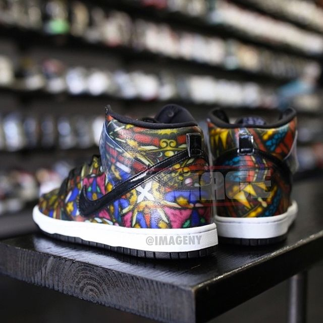 Concepts Nike Dunk High Sb Stained Glass 03
