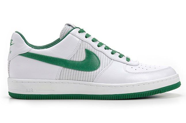 Nike Air Force 1 Downtown White Green 1
