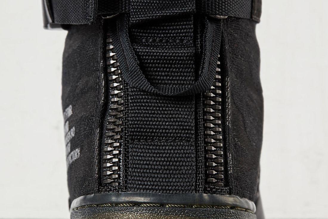Nike Sf Air Force 1 Mid Black2