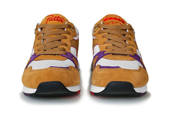 Patta Diadora V7000 Honey Mustard 4