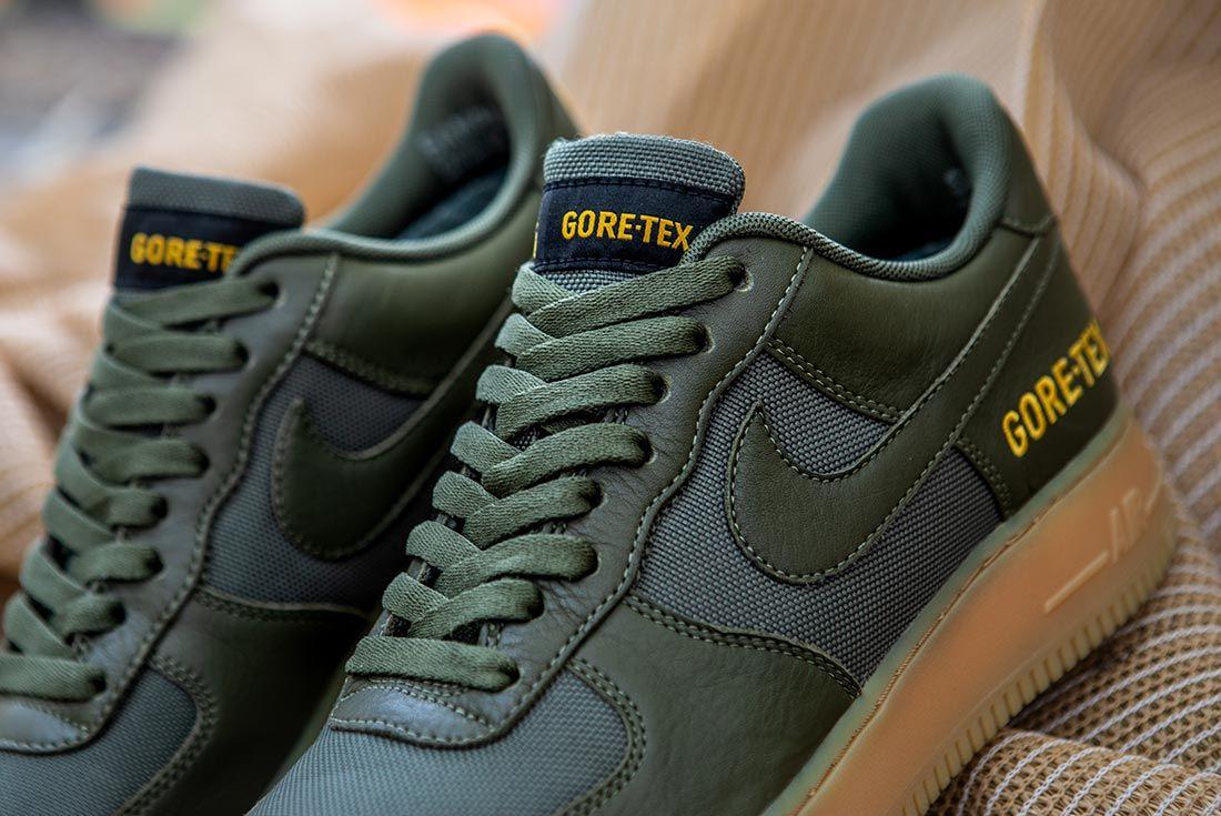 Nike Air Force 1 Gore Tex Green Tongue