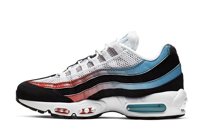 Nike Air Max 95 Blue Fury Ck0037 001 Lateral Side Shot