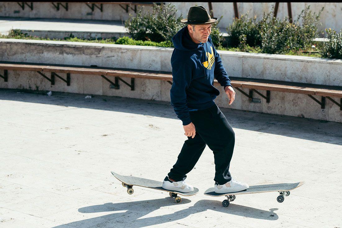 adidas Skateboarding Superstar by Mark Gonzales Double Board