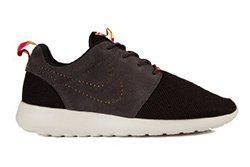 Nike Roshe Run Perf Swoosh Black Grey Pink Thumb