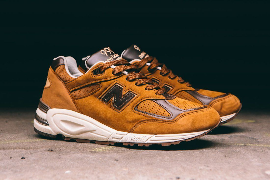 New Balance M990 Dvn2 Made In Usa Tawny Brown4