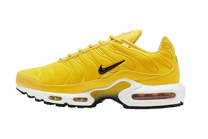 Nike Air Max Plus Yellow Bq9978 700 Medial