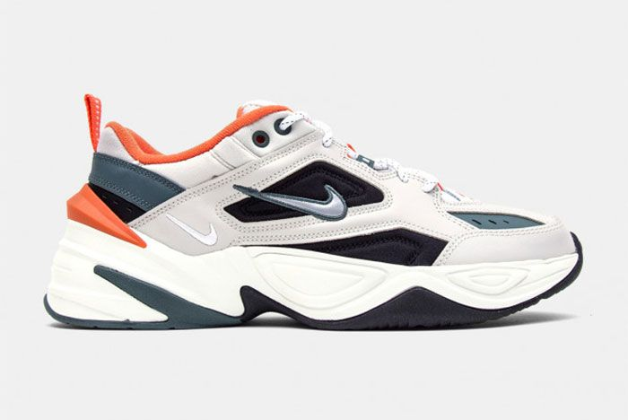 Nike M2 K Tekno Light Bone And Burnt Orange Side Shot 2