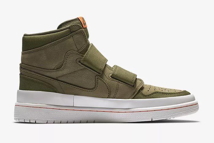 Air Jordan Double Strap Olive 1