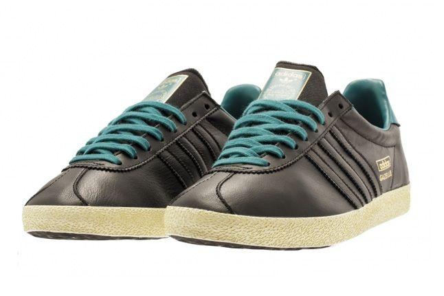 Adidas Gazelle Og Soft Gold Teal 4