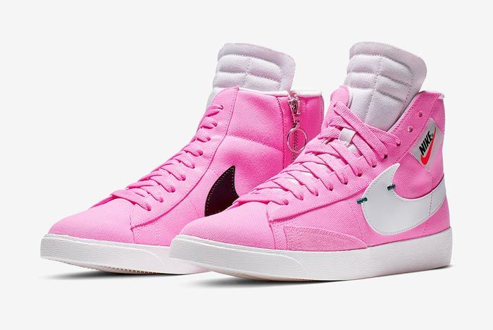 Nike Blazer Rebel Mid Psychic Pink Pair