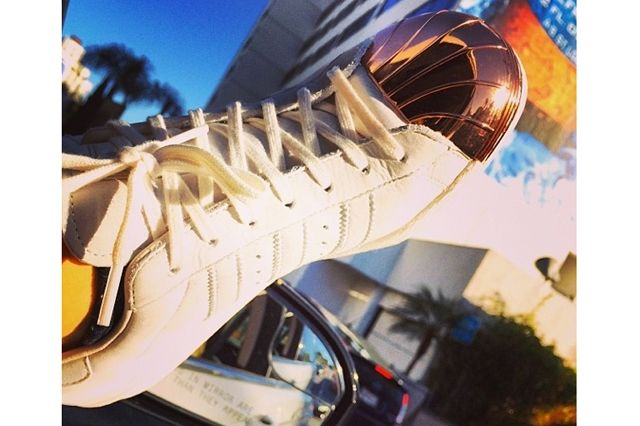Rita Ora Adidas Partnership Metal Shelltoe