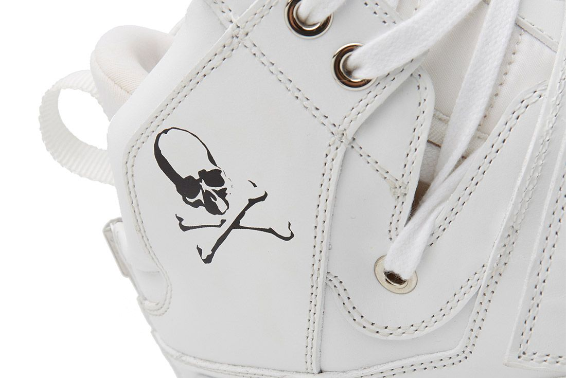 Search Ndesign X Mastermind Ghost Sox Sneaker Freaker White 3
