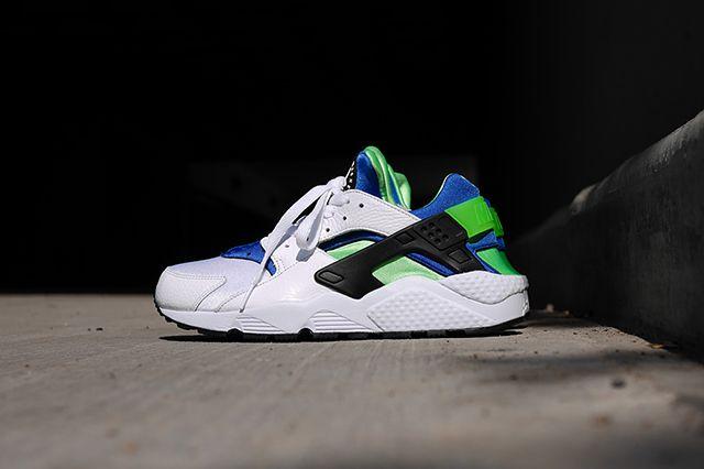Nike Air Huarache Og Scream Green 2014 Retro 91