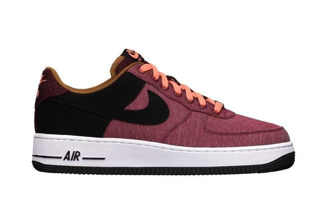 Nike Air Force 1 Low Noble Red Profile