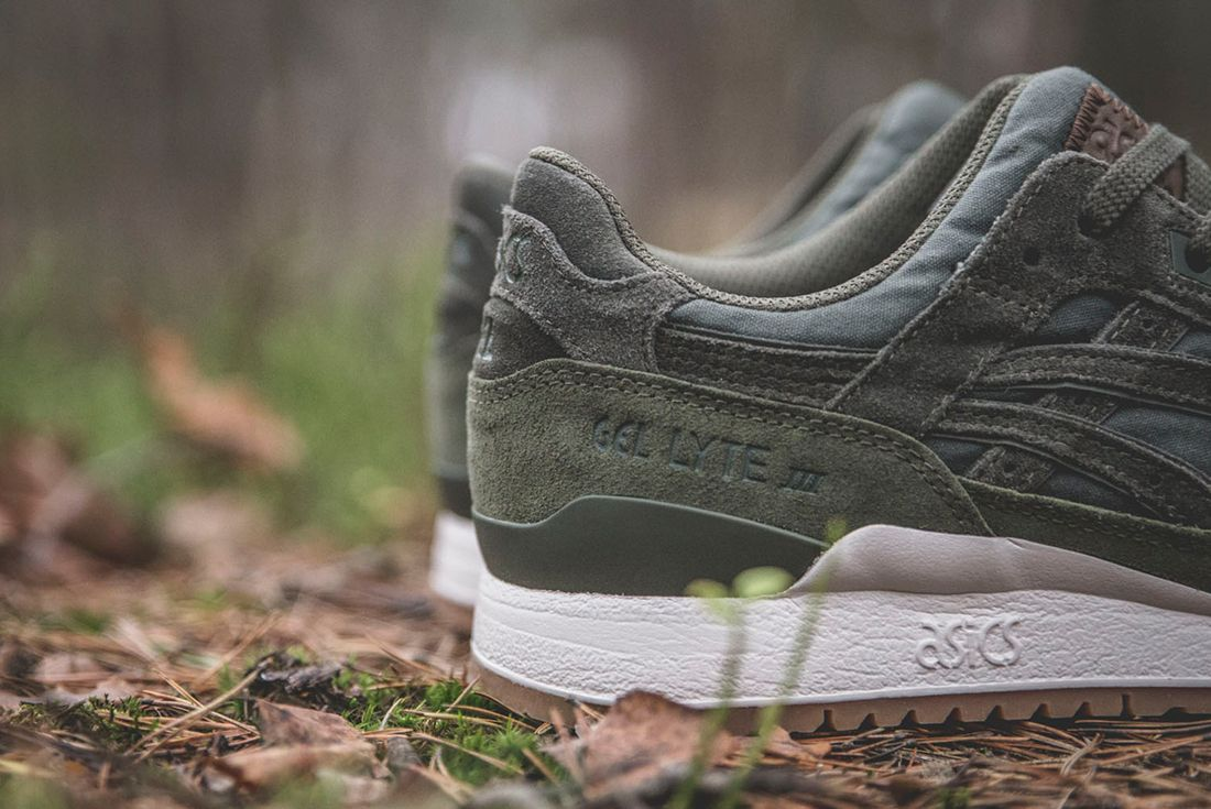 Sneakersnstuff X Asics Forest Pack13