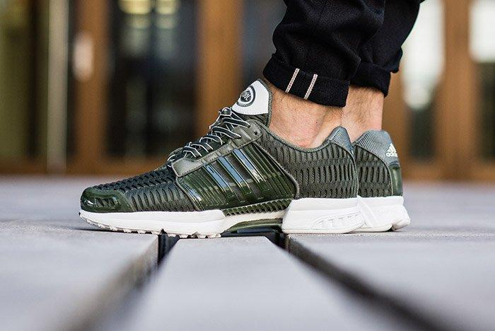 Adidas Clima Cool Base Green On Feet 3