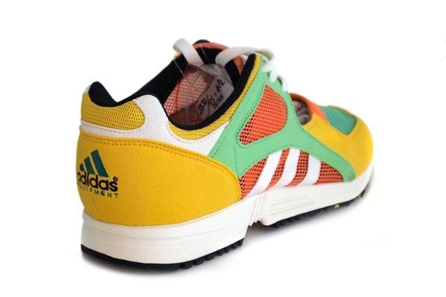 Adidas Eqt Racing Yellow Green Peach 3