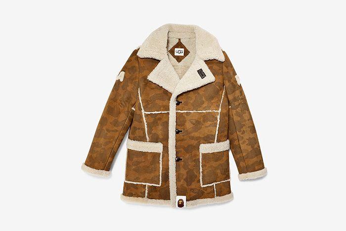Bape Ugg Jacket Front