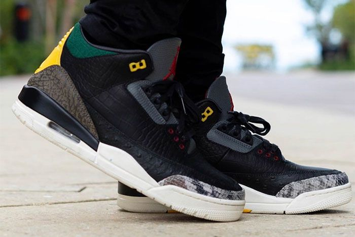Air Jordan 3 Animal Instinct 2 0 On Feet 6