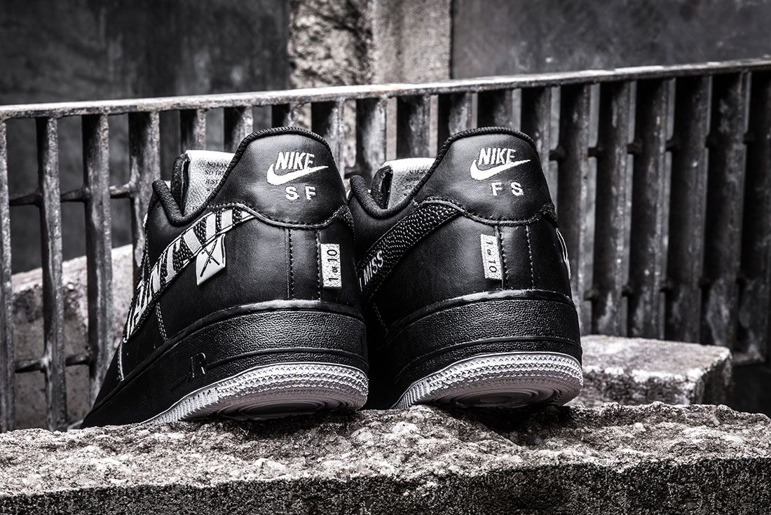 Bespokeind X Saint Side Air Force 1 Custom Close Up5
