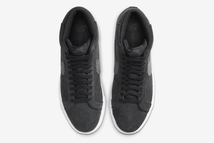 Nike Sb Blazer Black Grey Top