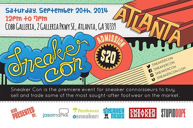 Sneaker Con Upcoming Atlanta Event Info