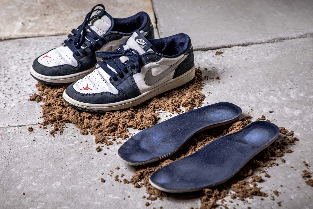 Nike Eric Koston Aj1 Low Pair And Insole