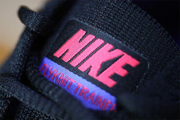 Nike Flyknit Trainer Red Purple Black 6
