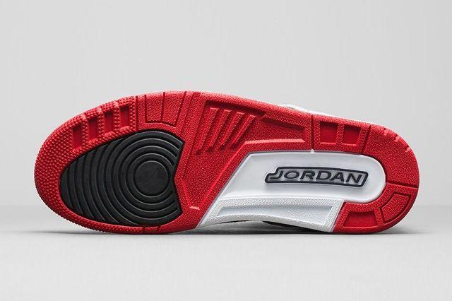 Air Jordan Spizike Wolf Grey Gym Red Bump 7