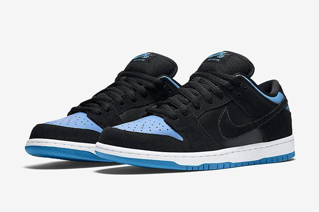 Nike Sb Dunk Low Pro Blackuniversity Blue6