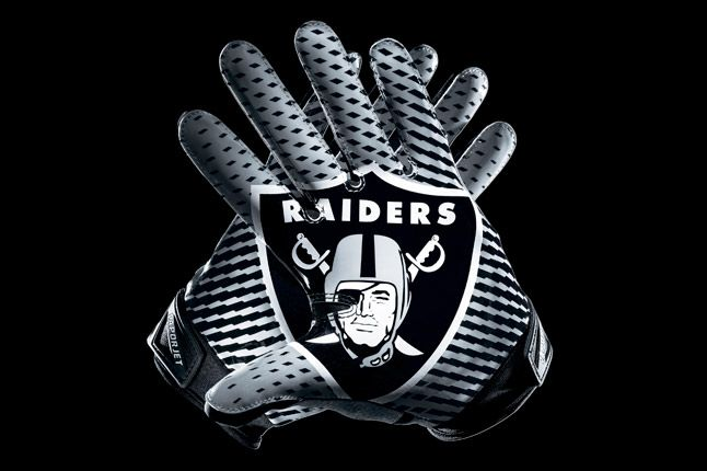 Oakland Raiders Glove 1