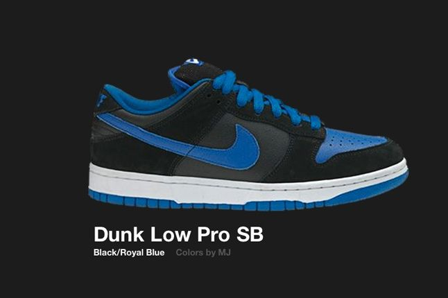 Nike Dunk Low Sb Mj 2005 1