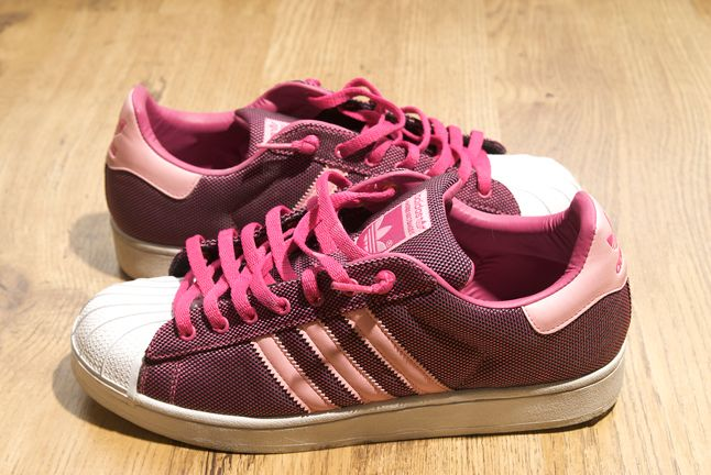 Adidas Superstar Pink 1